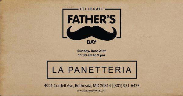 "Father""s Day Spacial menu"