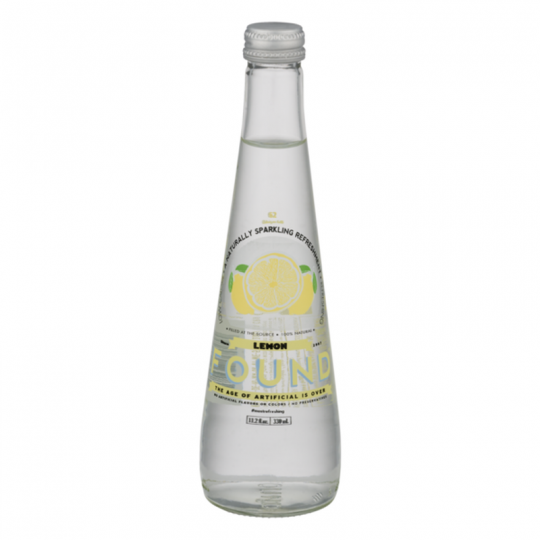 Found Sparkling Refreshment Lemon-330ml