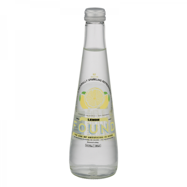 Found Sparkling Refreshment Lemon-330ml