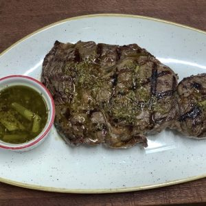 Argentinian Ribeye with Chimichurri